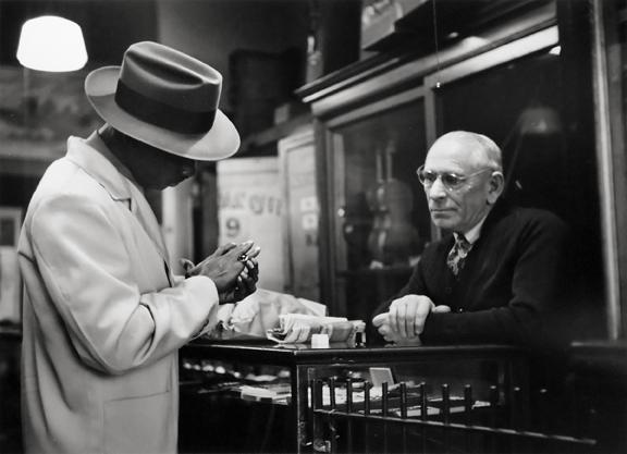 Pawn Broker, San Francisco, California 1948 gelatin silver print