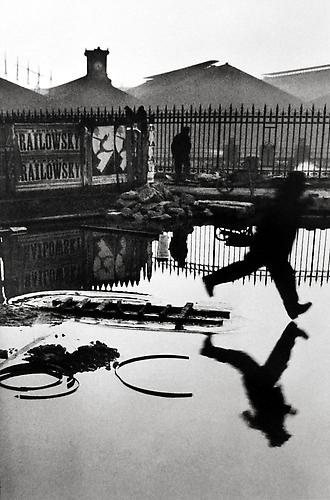 Behind the Gare Saint Lazare, Paris 1932 gelatin silver print