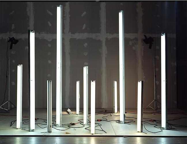 "No.667, 2008 ""Fluorescents and Incandescents with Illumination from Fluorescents"" Edition of 3, 72 x 93 in. (182 x 236 cm.) 2 AP, 40 x 52 in. (101 x 132 cm.) Color Photograph"