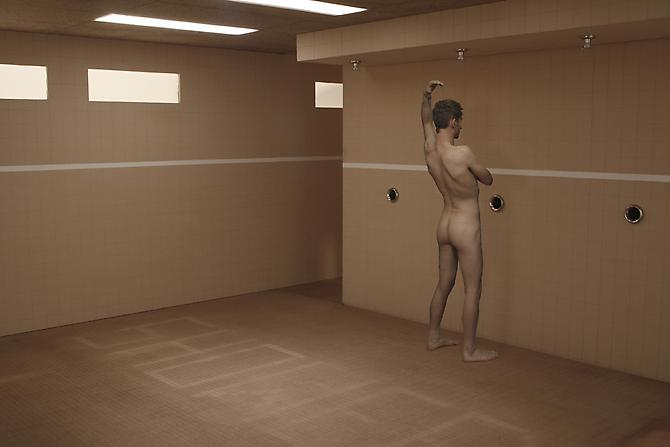 KRISTOPHER KARKLIN | BELTLINE WASHROOM | DIGITAL PRINT | 36 X 54 INCHES | 2009