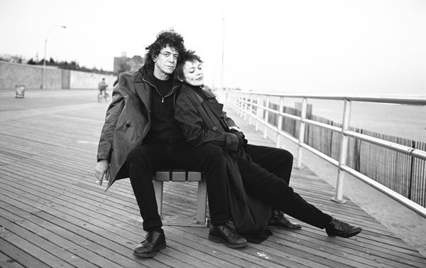 Lou Reed and Laurie Anderson, Coney Island, New York 1995 Gelatin Silver Print