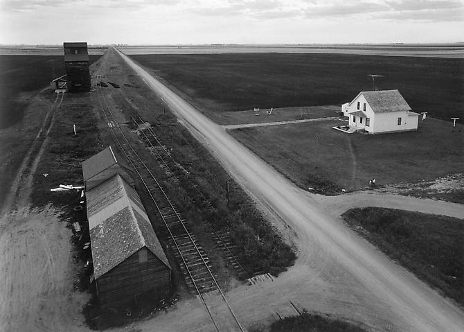 From Country Elevator, Red River Valley 1957 gelatin silver print