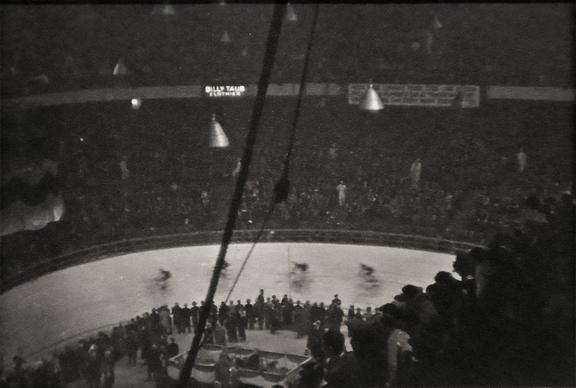 Bicycle Race, Madison Square Garden 1932 vintage gelatin silver print
