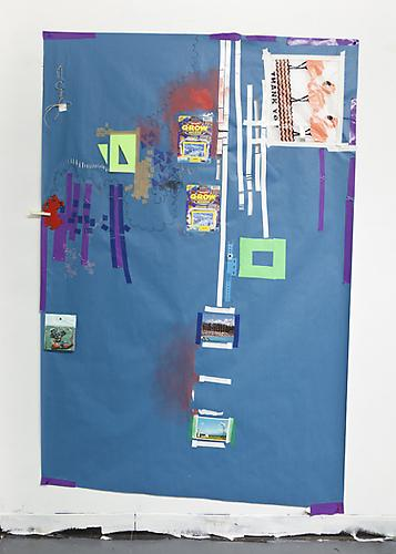 Blue Lagoon , 2011 Mixed media