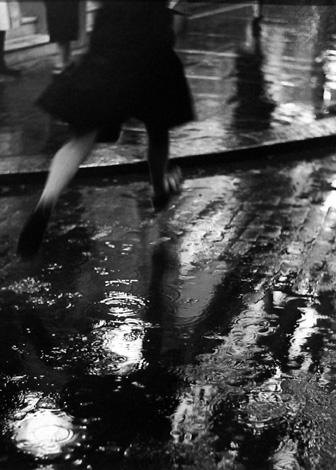 Charing Cross Road [puddle jumper] 1937 gelatin silver print