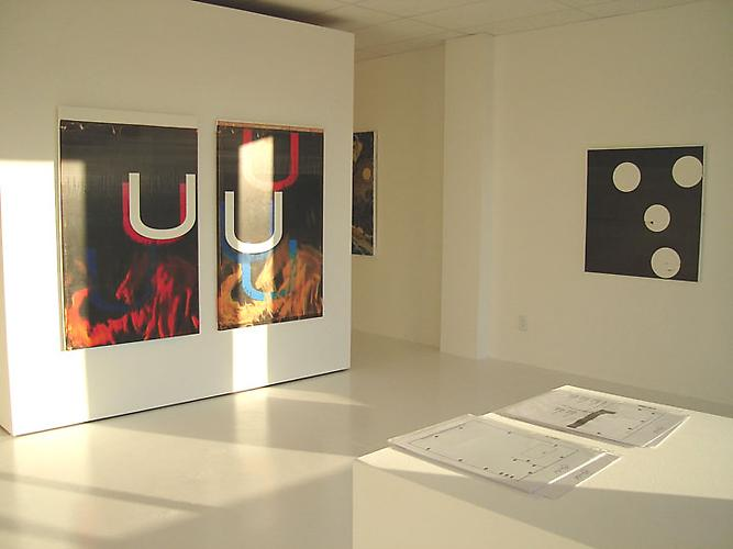 Installation view Solo Exhibition, 2005 Gavlak Gallery