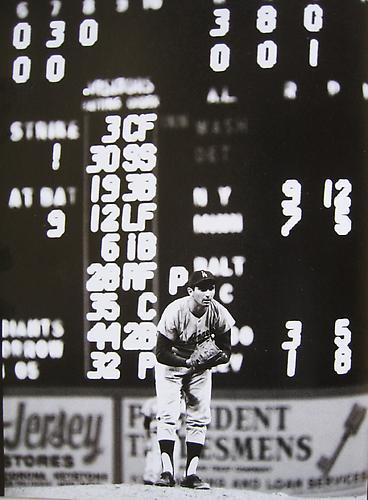 Sandy Koufax, No hitter in Connie Mock Stadium Philadelphia, PA 1964 Gelatin Silver Print