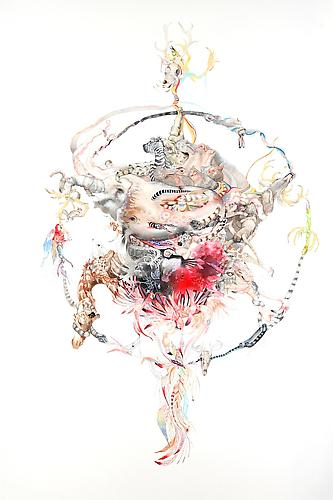 Laura Ball, Mandala 3 (Circle of Life) (2011)