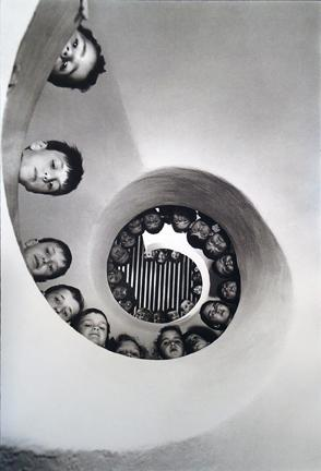 Children's LIbrary Built by the Atelier e Montrouge, Clamart, France 1965 gelatin silver print