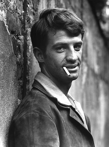 Belmondo the day of the first test shoots (A Bout De Souffle) 1959  gelatin silver print
