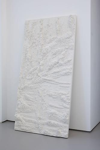 Andreas Eriksson Untitled, 2011 Plaster 47.24 x 23.62 x 3.94 inches