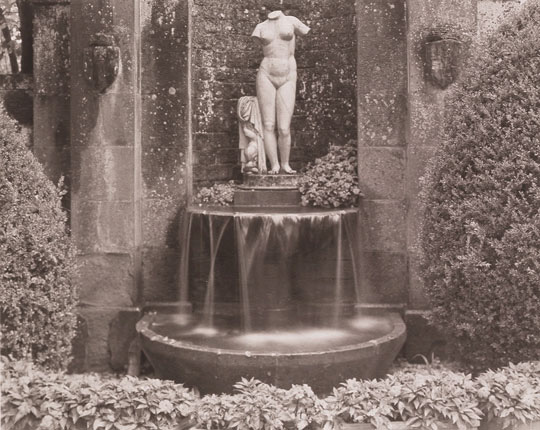 Torso & Fountain, Palagio Floentino-Stia 1998 Platinum/palladium