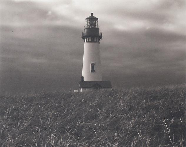 Newport Bay Lighthouse, Oregon 1999 Platinum Palladium
