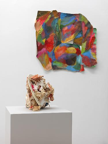 Installation view of 'Alphabet 3' and 'Shield', CAR Projects, 2011 (Image 0038)