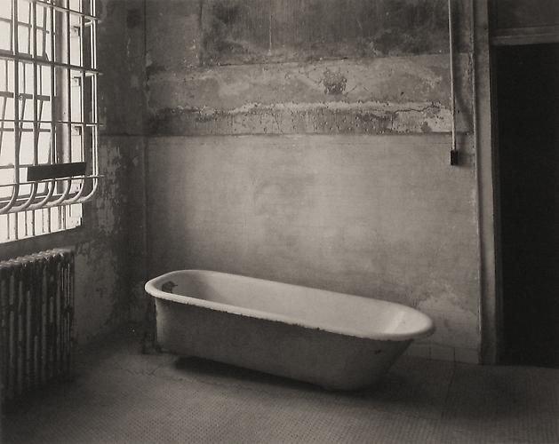 Bathtub, Alcatraz-San Francisco, California 2004 Platinum Palladium