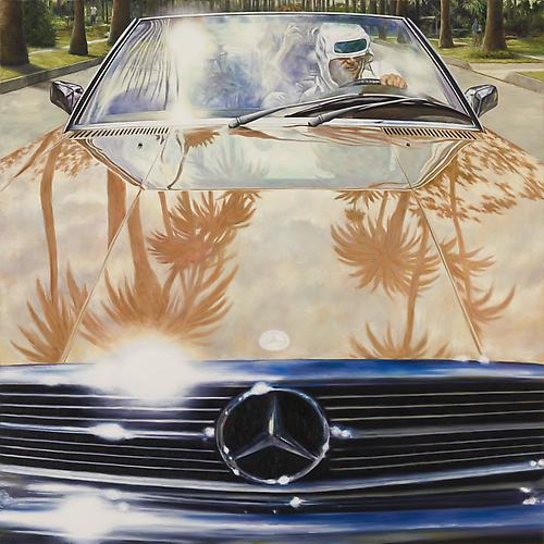 1974 Mercedes-Benz 450 SL (Annie Hall), 2011 Oil on canvas 48 x 48 inches