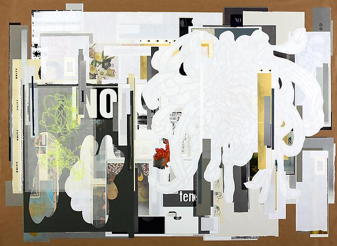 Apathetic Empathy, 2011 paper on paper 44 x 60 inches