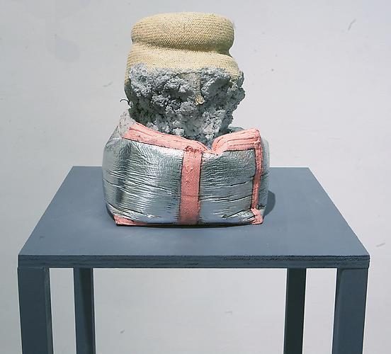 Christopher Astley Wuhkable Welic, 2013 concrete, straw, paint, and various other materials 10 x 12 x 10 inches