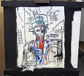 New Aquisition - JM Basquiat, 1982