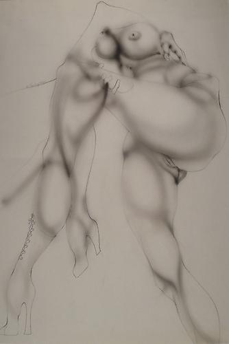 William Tunberg Untitled, 1966 Charcoal and pencil on paper; Signed and dated on recto Image: 33 x 25 inches