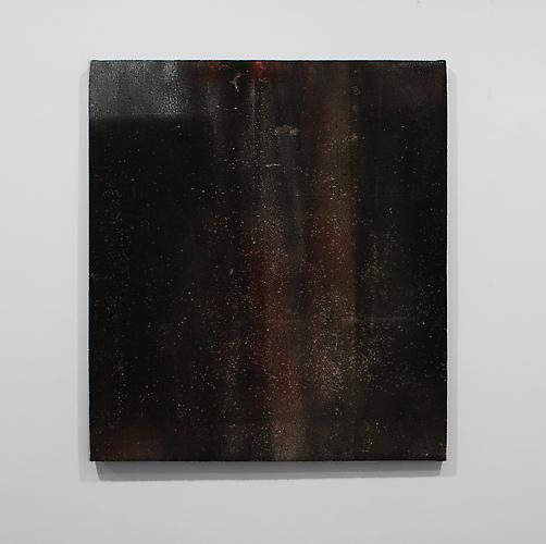 Blacksmith Painting No. 18 , 2012, primed linen and paint, 34 x 30 inches