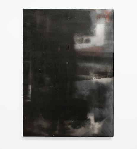 Blacksmith Painting No. 5 , 2012, primed linen and paint, 67 x 47.25 inches