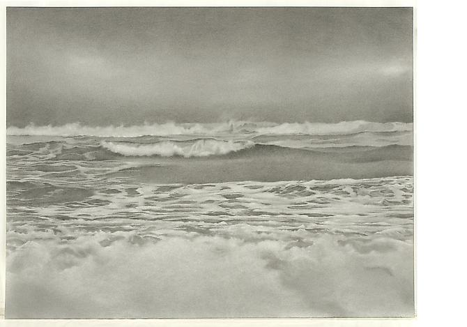 Breezy Point 2, 2010 Graphite on paper 18 x 23 1/2 inches