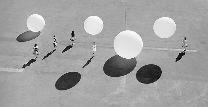Jeff Charbonneau & Eliza French Dividing Suns, 2010 (from Playground Series) Chromogenic print mounted to dibond Edition of 3; 30 x 58 inches Edition of 4; 20 x 36.5 inches Edition of 5; 12 x 23 inches