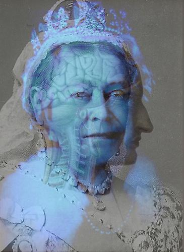 ANATOMY OF A DIAMOND JUBILEE: VICTORIA | ULTRACHROMIUM PRINT | 36 X 27 INCHES | 2012