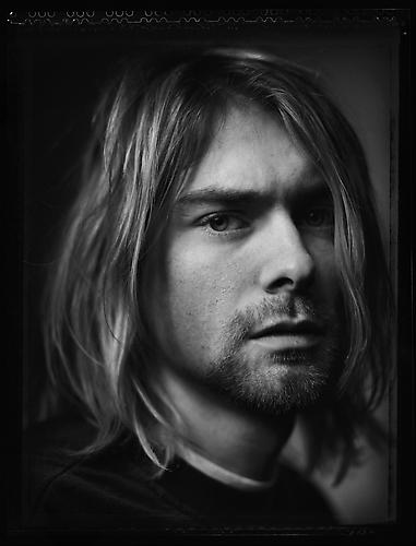 Kurt Cobain, Kalamazoo, Michigan 1993 platinum/palladium