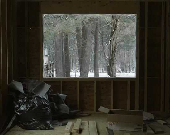 Cydney Puro Untitled (An Inside + An Outside, Portland, ME.), 2009 Hand coated pigment print Edition of 5 24 x 30 inches