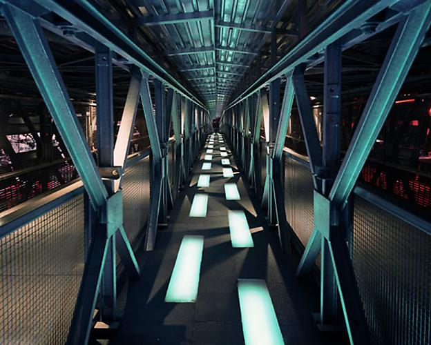 David S. Allee, Erector Bridge, New York, NY, ed. 12, 2003 Chromogenic Print 40 x 50 in (101.6 x 127 cm)