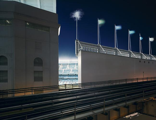 David S. Allee, Stadium Light, Bronx, NY, ed. 12, 2002 Chromogenic Print 40 x 50 in (101.6 x 127 cm)
