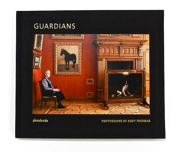 Guardians , $40 Photographs by Andy Freeberg Introduction by Clifford J. Levy Published by photolucida, 2009