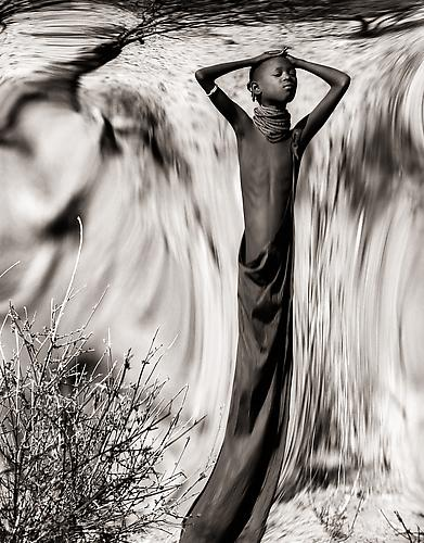 Dreamchild The Turkana, Kenya 1988 platinum/palladium print