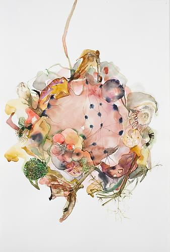 Emilie Clark, Untitled (EHR 18) from Sweet Corruptions (2011) Watercolor On Paper 22h x 15w in