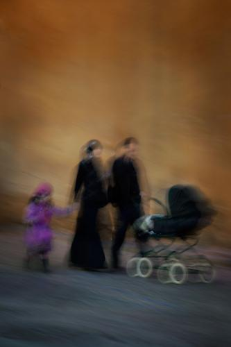 """Evening Stroll"" Sharon Johnson-Tennant Archival Pigment Print, 2012"