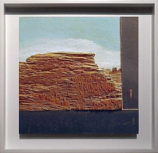Robert's Rock , 2007 Mixed media 11 1/4 x 11 1/2 in.