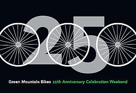Green Mountain Bikes 25th Anniversary Celebration