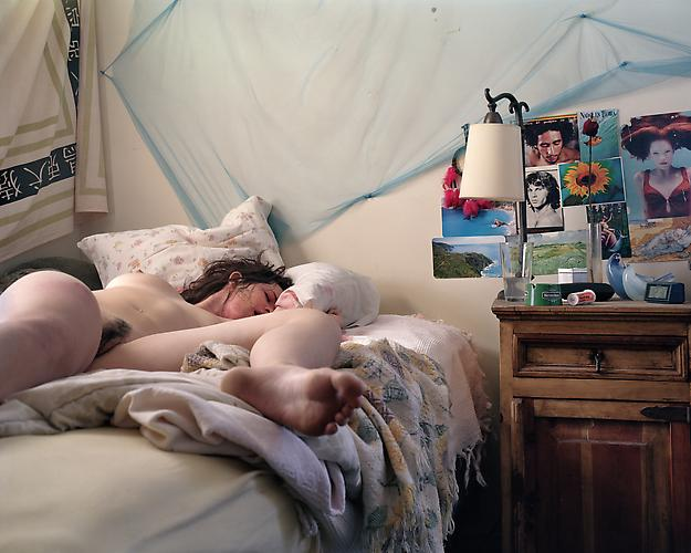 Angela Strassheim,  Untitled (Girl Found on Bed) , 2003 Archival pigment ink print 30 x 40 inches Edition of 8