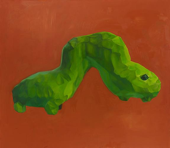 Andrew Smenos  Give Them an Inch, They'll Take a Mile , 2012 Oil on canvas 84 x 96 inches