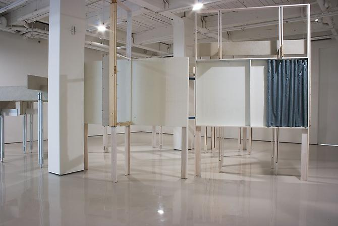 Heather Rowe Installation View: D'Amelio Terras, New York, NY, November 9 - December 23, 2007.