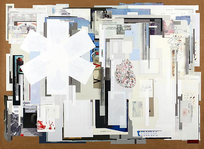Health Cared, 2011 paper on paper 44 x 60 inches