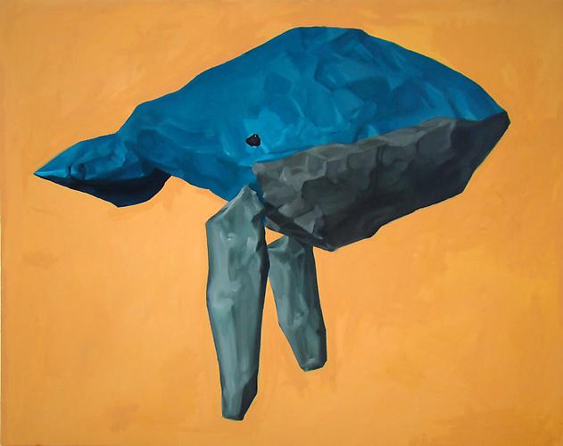 Andrew Smenos  Don't Hold Your Breath,  2012 Oil on canvas 48 x 60 inches