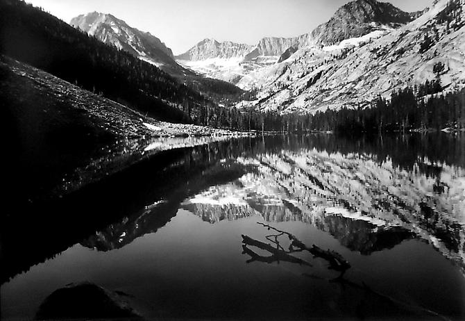 East Lake, King's Canyon, CA 1952 gelatin silver print