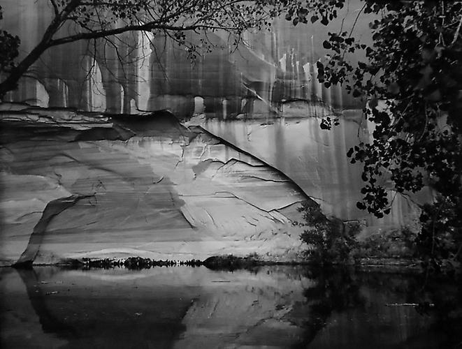 Escalante River Near Willow Canyon, Glen Canyon, Utah 1964 gelatin silver print