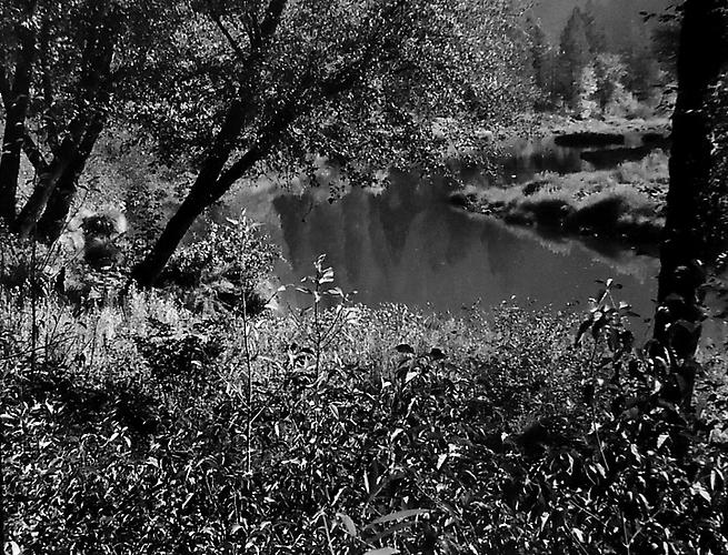 Indian Creek Near Indian Falls, Northern Sierra Nevada, CA gelatin silver print