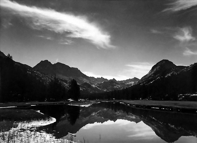McClure Meadow, Evolution Valley, Kings Canyon 1951 gelatin silver print