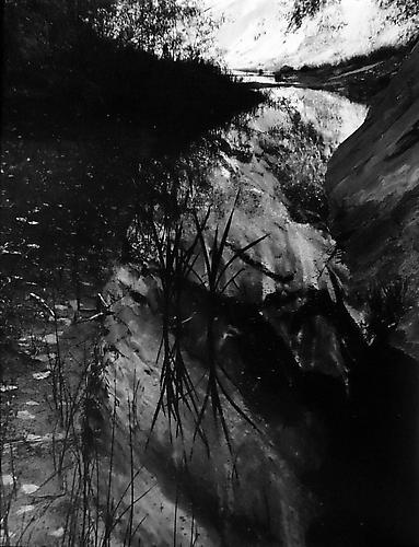 Scorpion Gulch, Escalante River Escalante Wilderness 1968 gelatin silver print