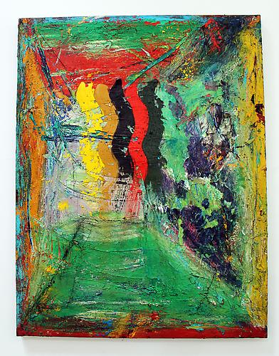 Untitled, 1993-1995 Oil on canvas 66 x 51 inches